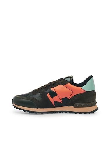 Valentino Sneaker Ayakkabı Erkek Ayakkabı S0723 Tcc Fr4 Bordo